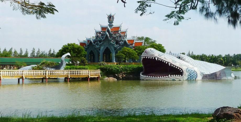 Visite du parc « Thaïlande en miniature »