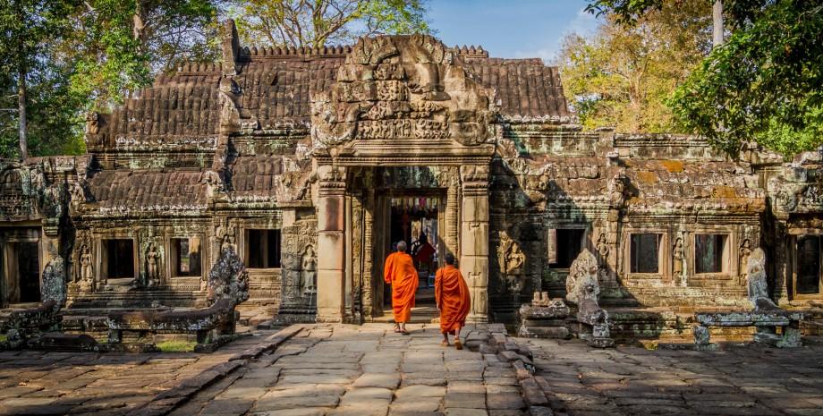 Découverte d'Angkor Wat et Ta Prohm en tuk-tuk
