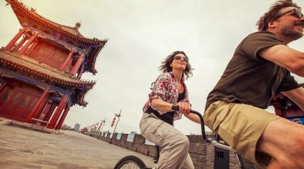 Vélo à travers les Hutongs