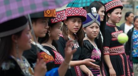 Randonnée aux villages Hmong et Khmu
