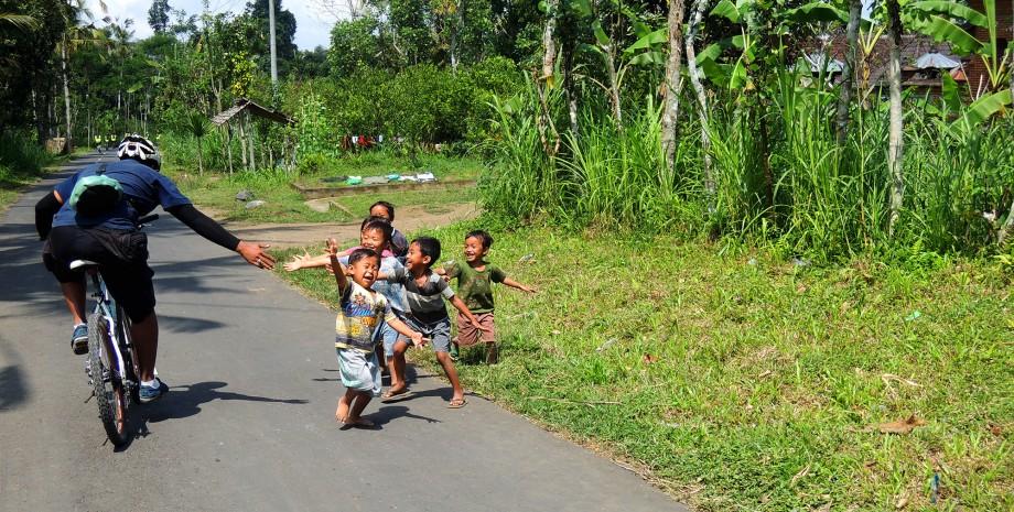 Le Bali authentique en vélo