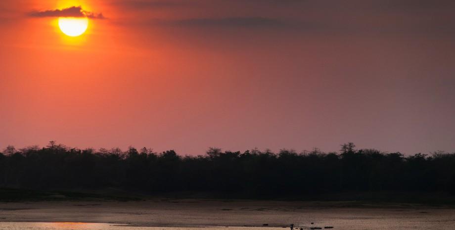 Bateau et vélo sur le delta du Mékong