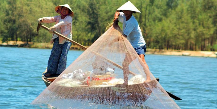 Pécher comme un vietnamien
