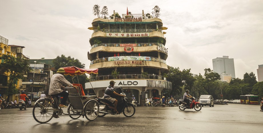 Visite du vieux Hanoï en vélo