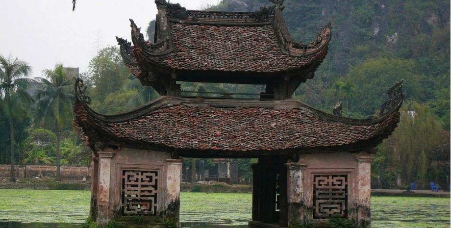 Découverte de la pagode du maitre