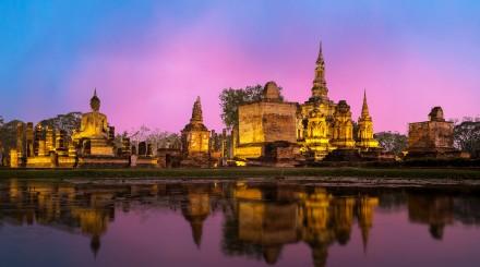 Croisière vers Ayutthaya