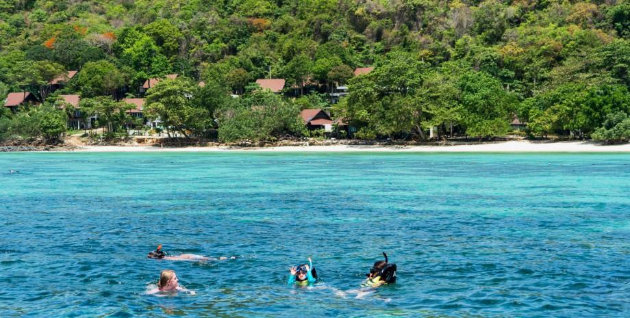 Bateau vers les îles Phi Phi