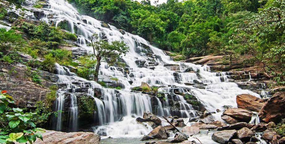 Parc national Chae Son et visite de Lampang