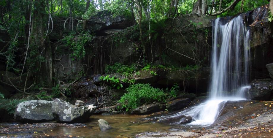 Balade à Kbal Spean et Banteay Srei