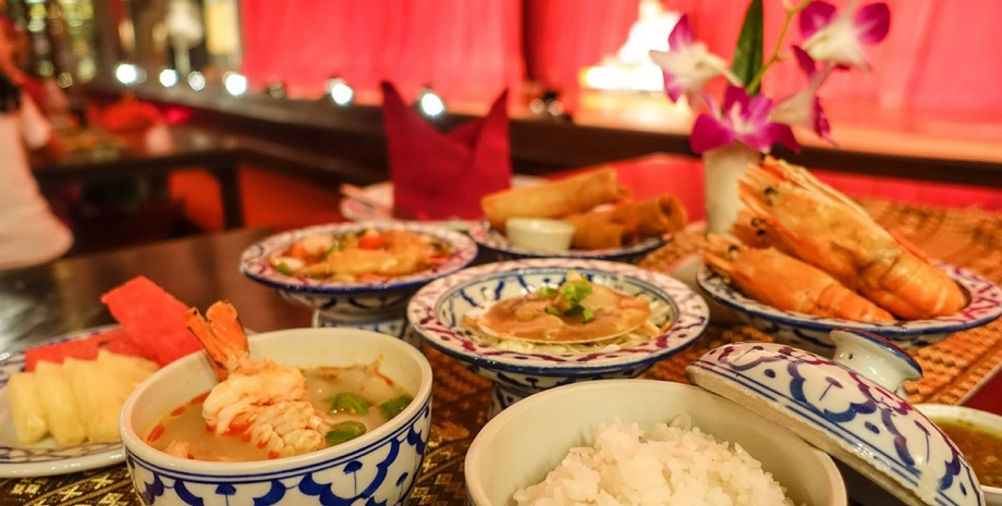 Authentique diner Thaï