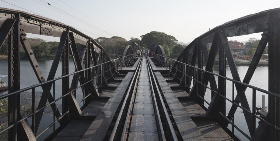 Excursion au pont de la rivière Kwai