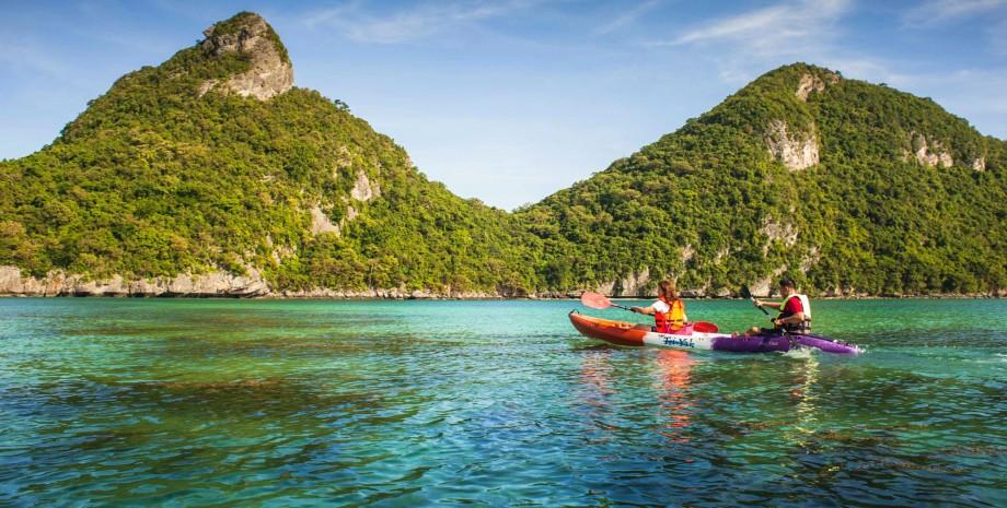 Découverte de l'archipel Ang Thong
