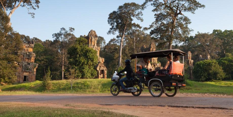 Découverte d'Angkor Thom en tuk-tuk