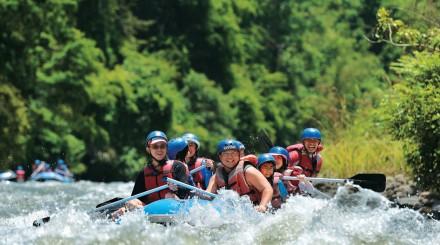Rafting sur la rivière Kiulu