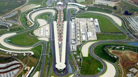 Le circuit de Formule 1 de Sepang