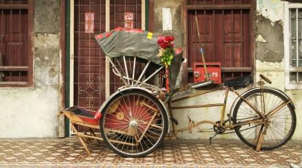 Georgetown en vélo taxi