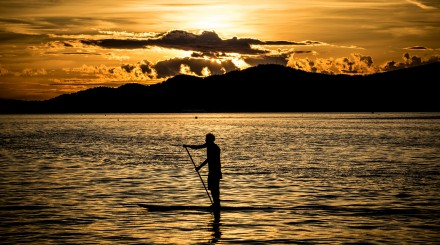 Cours de stand up paddle