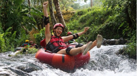 Tubing à Bali