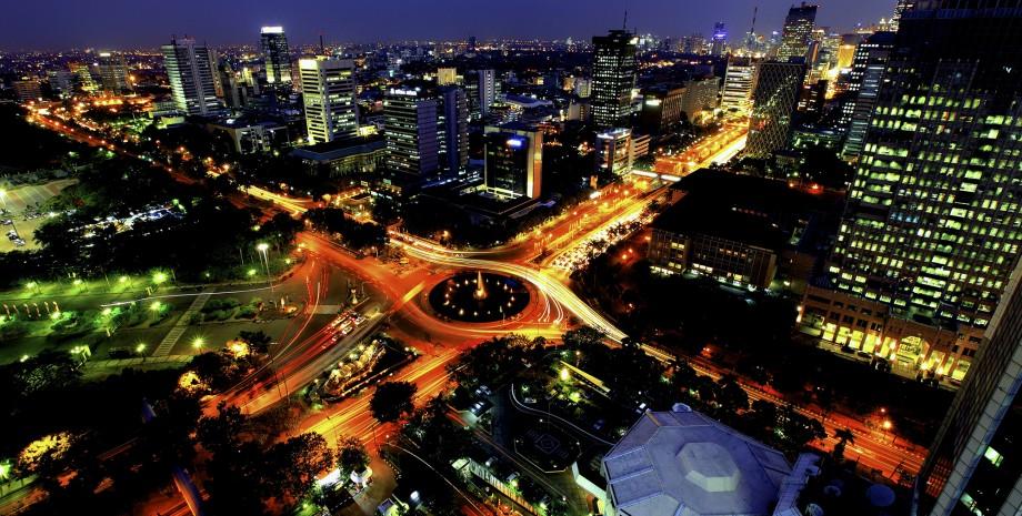 Sur la route du Jakarta d'antan