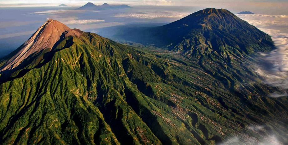 Ascension du volcan Merapi
