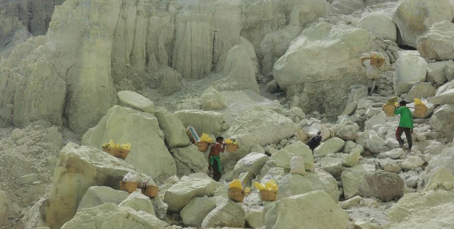 Kawah Ijen et tortues à Sukamade