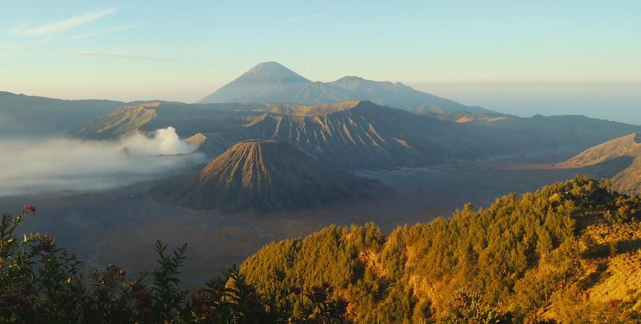Lever de soleil au mont Bromo