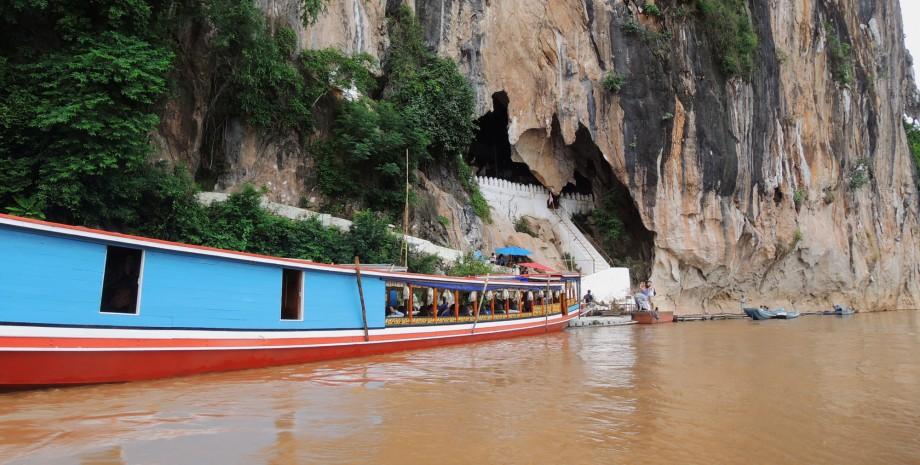 Excursion aux grottes de Pak Ou