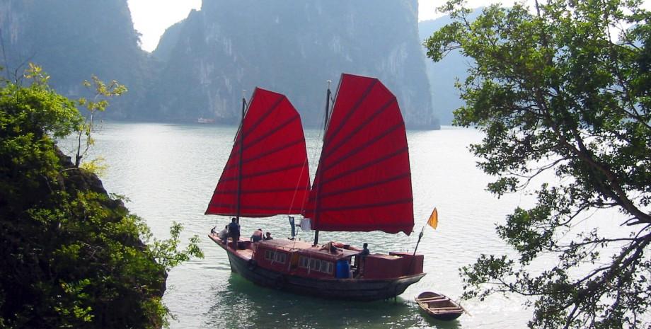 Croisière en jonque sur la baie d'Halong