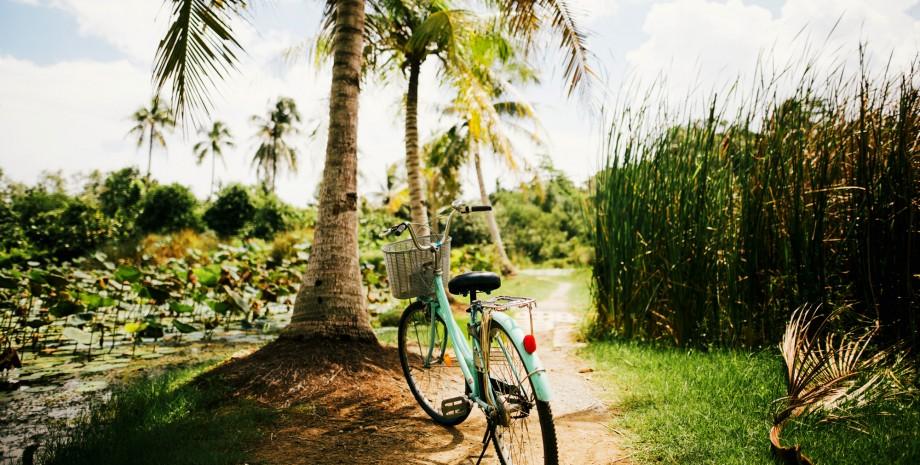 Balade en vélo vers Tra Que